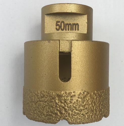 Flisebor Diamant 50 mm – M14 gevind til vinkelsliber