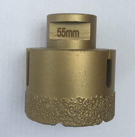 1250-48 Flisebor Diamant 55 mm - M14 Hulbor til Keramiske fliser
