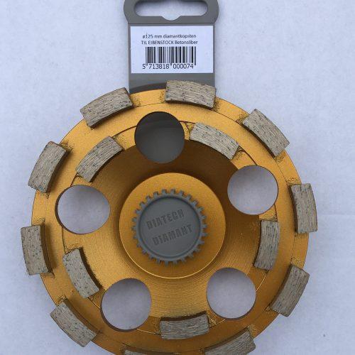 kopsten ø125 mm dobbelt række