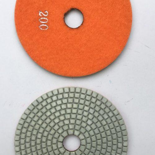 Diamant rondel ø125 mm - korn 200