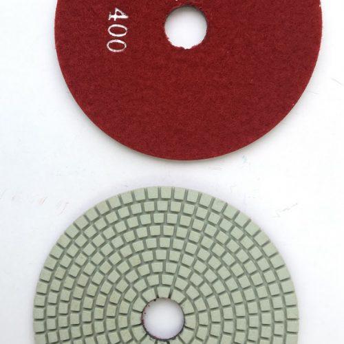 Diamant rondel ø125 mm - korn 400