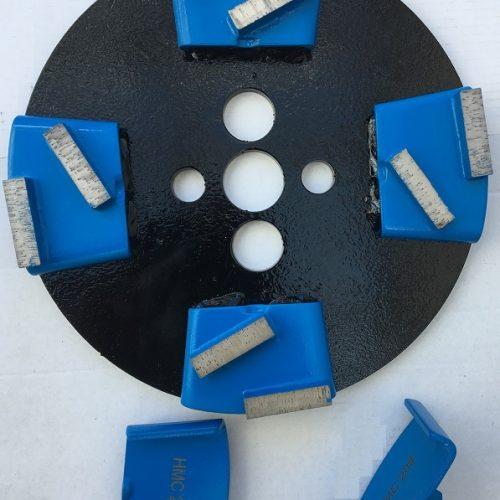 Lav din OMEGA betonsliber om så den kan bruge HTC diamntsegmenter