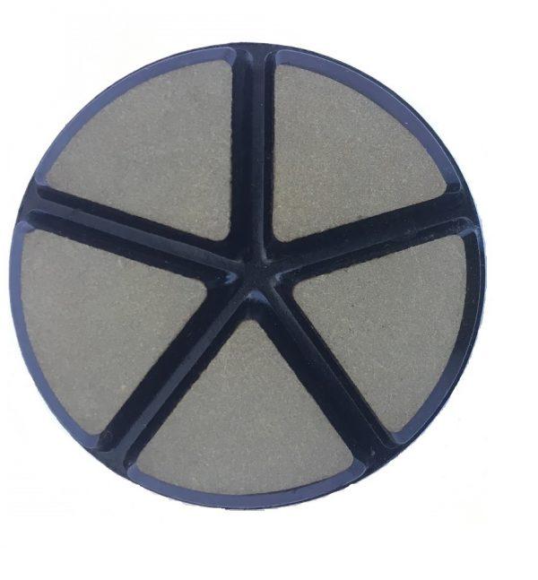 Diamant Tørslibningsskiver med velcro bagside for polering af alle stenmaterialer (f.eks. granit, marmor, terazzo og meget mere)