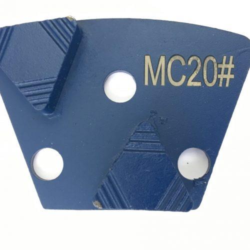 Diamanat segment til beton slibning- allround til magnetisk holder
